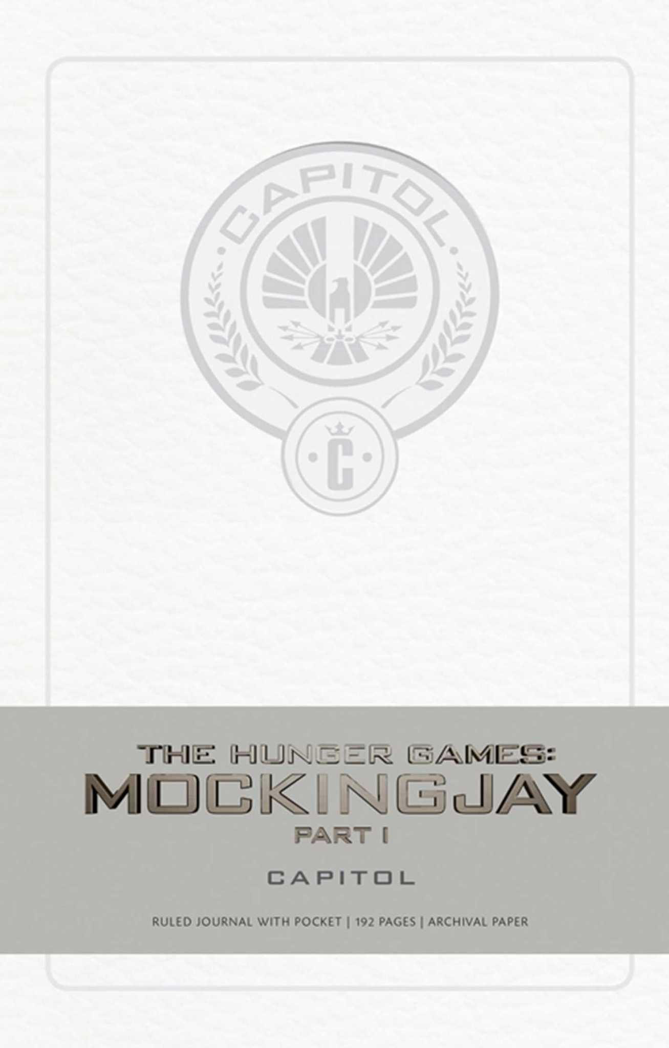 Записная книжка Hunger Games Mockingjay Capitol