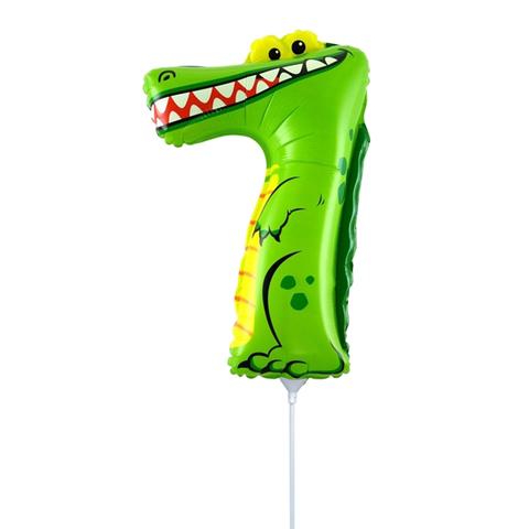 Цифра 7 Крокодил 40 см