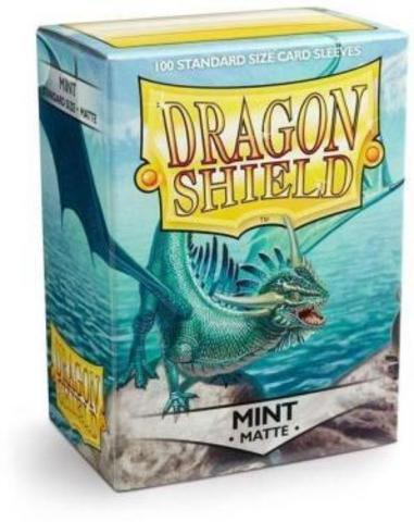 Протекторы Dragon Shield матовые Mint (100 шт.)