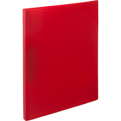 Папка с зажимом Attache Economy A4 0.4 мм красная (до 150 листов)