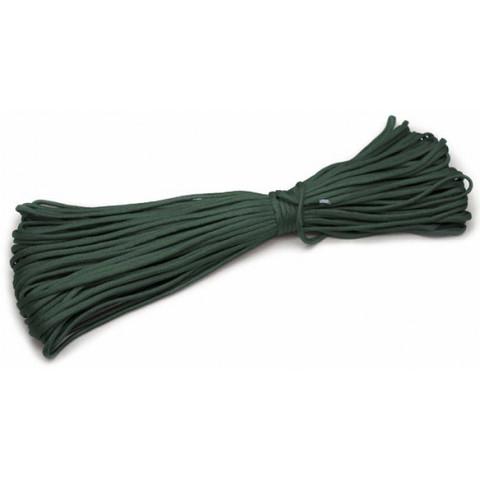 Шнур нейлоновый PC005 длина 30 м, диаметр 4.0 мм (зелёный)