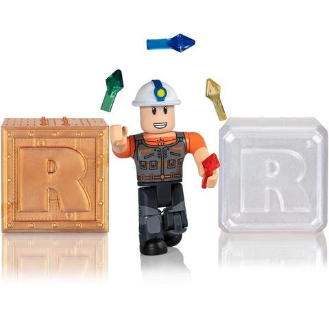 Роблокс Экшн-коллекция Мегаминер и 2 Кубика Мистери