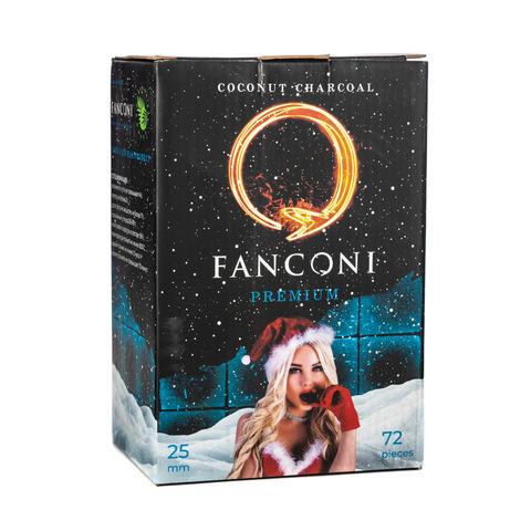 Уголь Fankoni 1кг 25мм