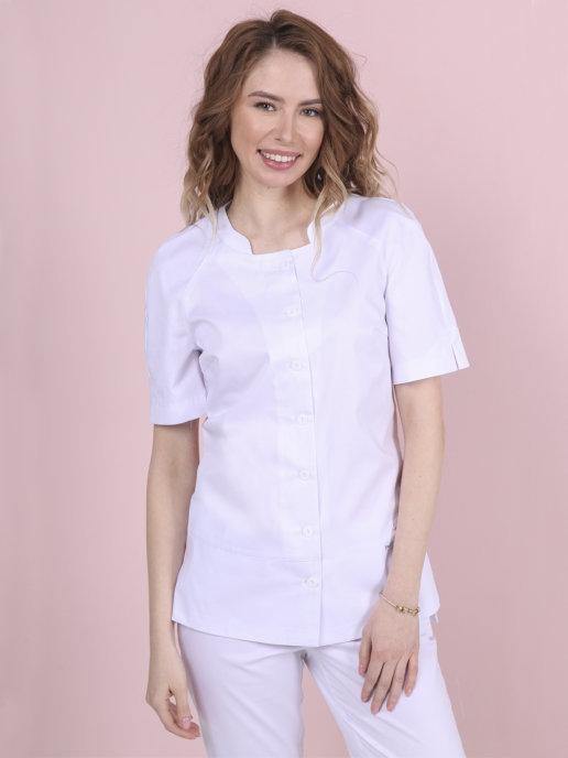 Женская блуза медицинская Бл-356
