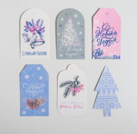 Набор декоративных шильдиков «Нежность»