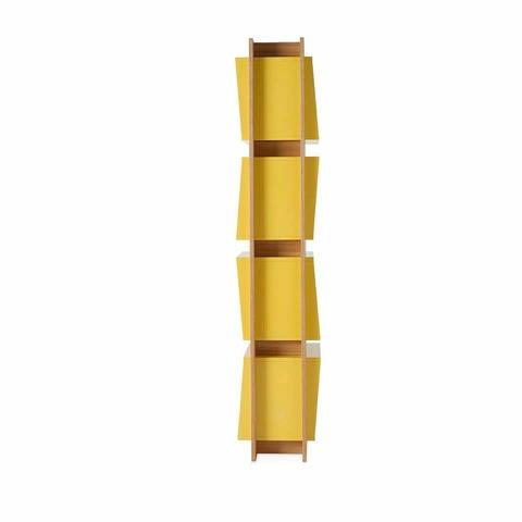 Стеллаж Equilibrio 829DP-ROBLE желтый