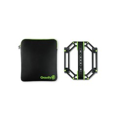 Gravity LTS 01 B SET 1 Cтойка для ноутбука или контроллера в комплекте с неопреновым чехлом