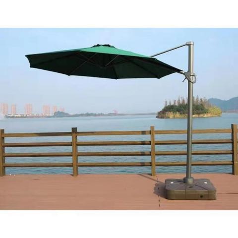 Зонт для кафе AFM-300DG-Green МРК