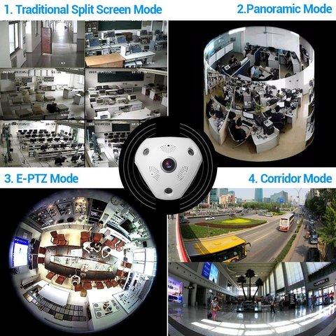 IP WiFi панорамная 360 камера Smart Camera FV-R3603-960PH