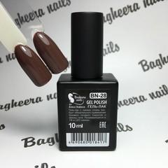 Bagheera Nails BN-28 молочный шоколад 10 мл