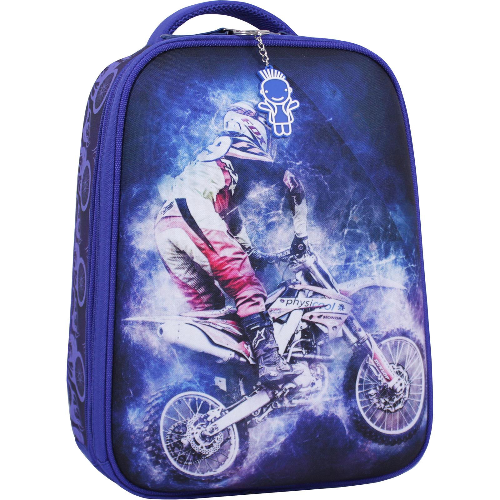 Школьные рюкзаки Рюкзак Bagland Turtle 17 л. синий 507 (0013466) IMG_1943_суб.507_.JPG