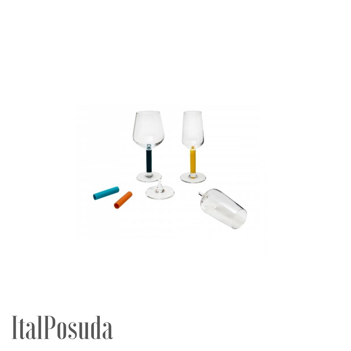 Набор бокалов со съемной ножкой Luminarc Lumikit (Люмикит), 17 предметов N8538