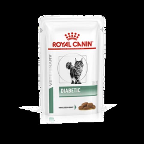 Корм для кошек ROYAL CANIN Vet Diet Diabetic DS46 при сахарном диабете пауч 85г