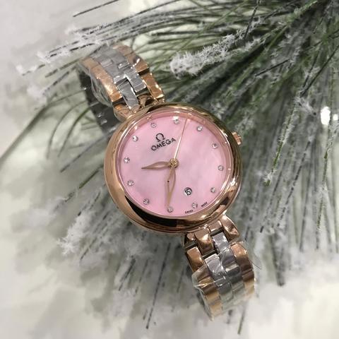OM7403 - Женские, наручные часы OMEGA розовые