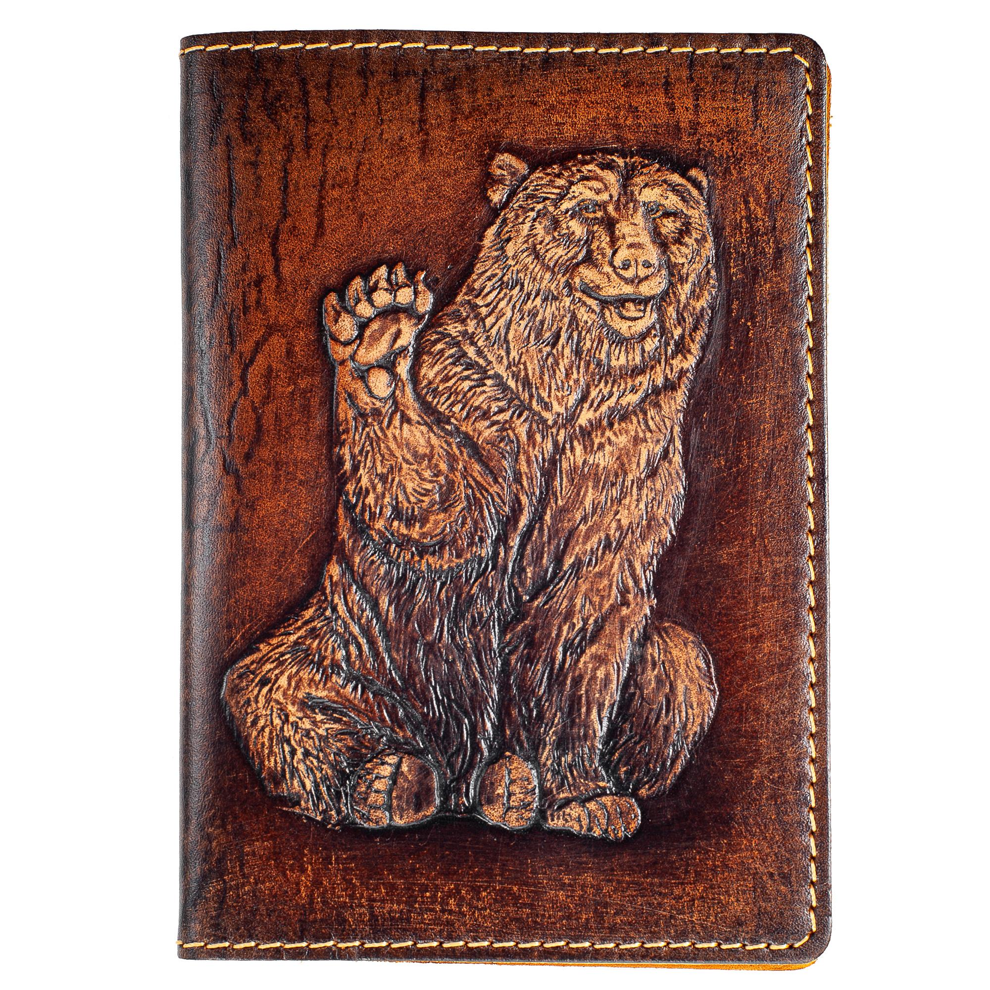 Обложка на паспорт kRAst Медведъ