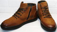 стильные кожаные ботинки мужские