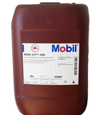 Купить на сайте Ht-oil.ru официальный дилер MOBIL ATF 3309 минеральное трансмиссионное масло для АКПП артикул 150272, 152680 (20 Литров)