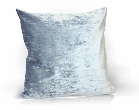 Подушка декоративная Бархат голубой