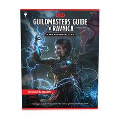 Guildmaster's Guide to Ravnica RPG Maps and Miscellany
