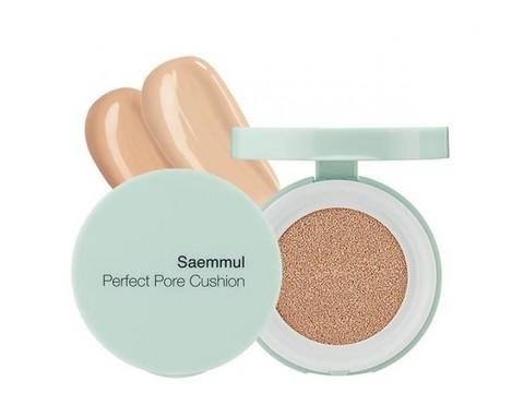 SAEM Perfect Pore Тональная основа Saemmul Perfect Pore Cushion 01 Light Beige 12гр