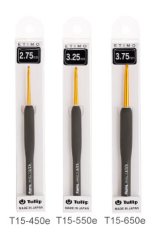 Крючок для вязания с ручкой ETIMO, Tulip