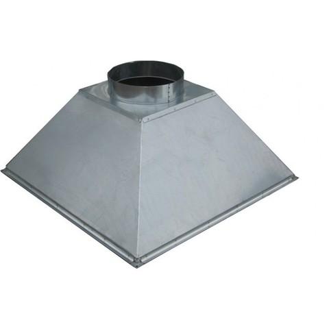 Зонт купольный 600х600/ф160 мм