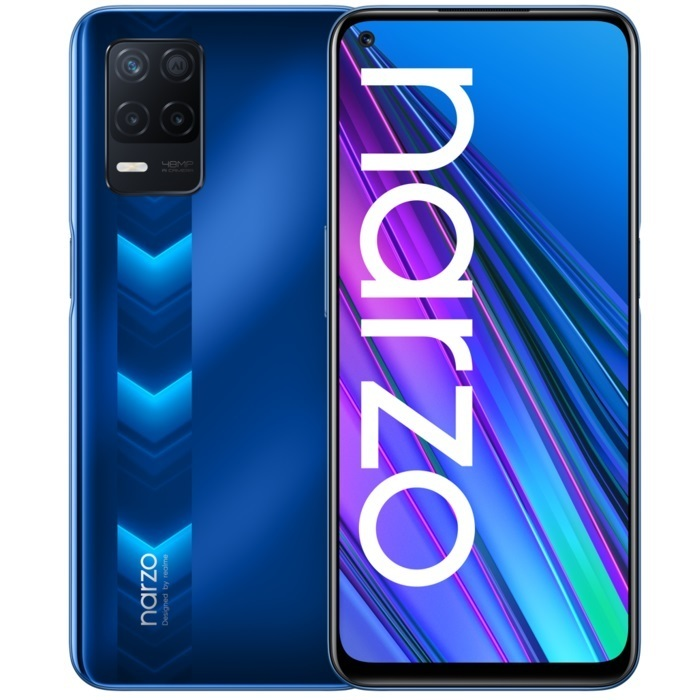 Realme Narzo 30 5G Realme NARZO 30 5G 4/128Gb Racing Blue (синий) blue1.jpeg