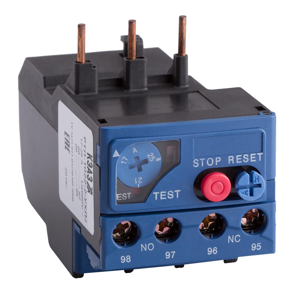 Реле перегрузки тепловое РТЛ-1022-2-25А-(17-25А)-УХЛ4-КЭАЗ