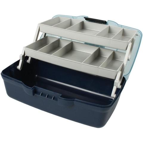 Ящик 2х-полочный AQUATECH 1702Т с прозрачной крышкой