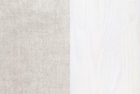 Ткань/Массив: Лофти Лён/Белая эмаль
