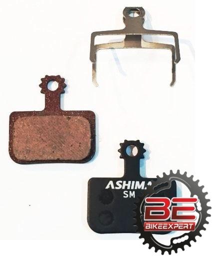 Колодки Ashima AD0708 SemiMetal для тормозов Avid