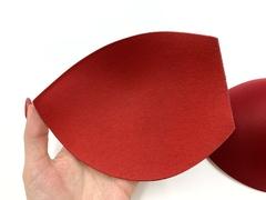 Чашки без пуш-апа темно-красные (90B-95A-85C-80D-75E) хб/пэ