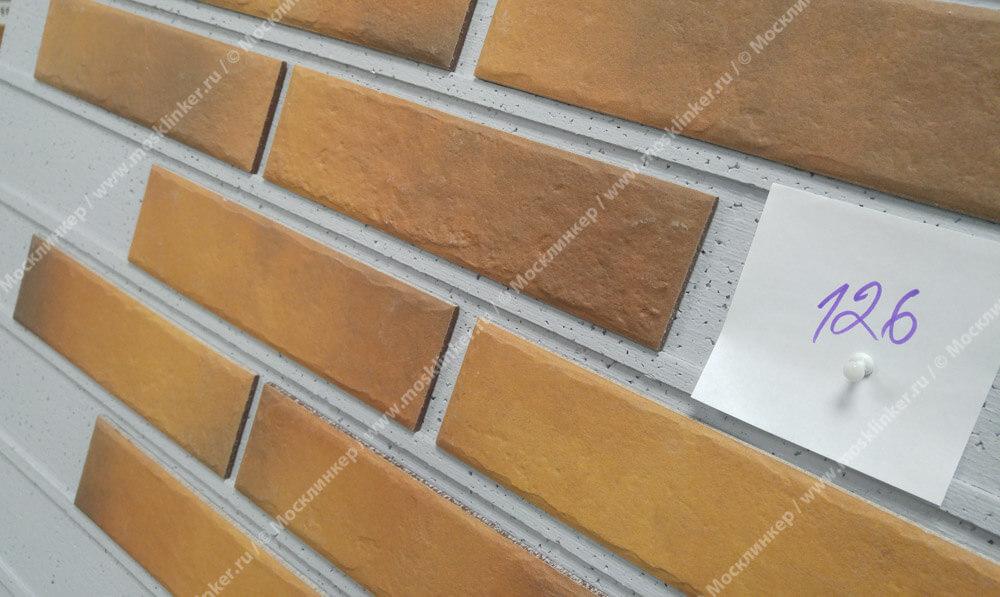 Cerrad Retro brick, Curry, 245x65x8 - Клинкерная плитка для фасада и внутренней отделки
