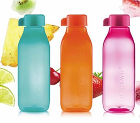 Бутылки эко квадратные набор