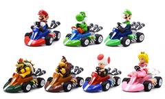 Супер Марио игрушки герои игры на машинках