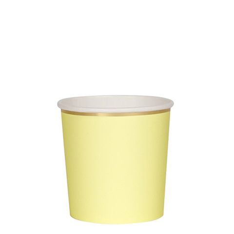 Стаканы желтые