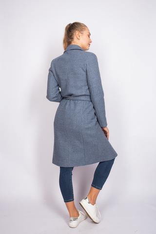 Удлиненное кашемировое пальто женское оптом