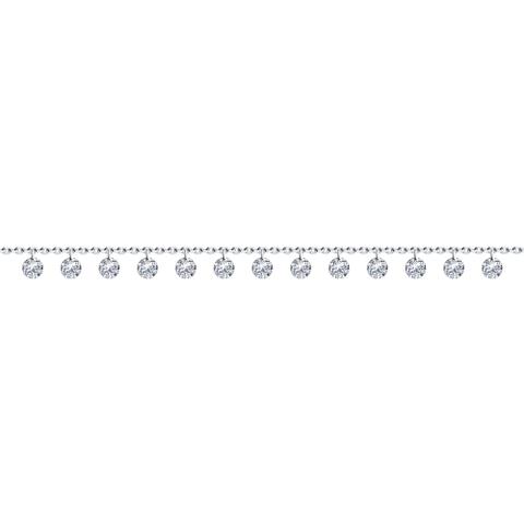 94050623 - Браслет из серебра с подвесками