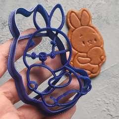 Пасхальный кролик с яйцом №5