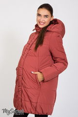 Зимняя куртка для беременных на высокотехнологичном утеплителе Hollowsoft