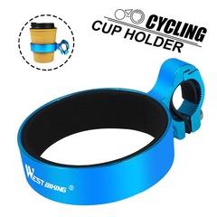 Держатель для стакана/термоса на руль West Biking blue - 2