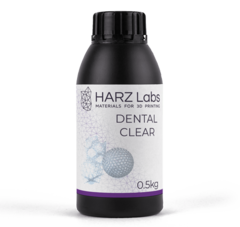 Фотография — Фотополимер HARZ Labs Dental Clear, прозрачный (500 гр)
