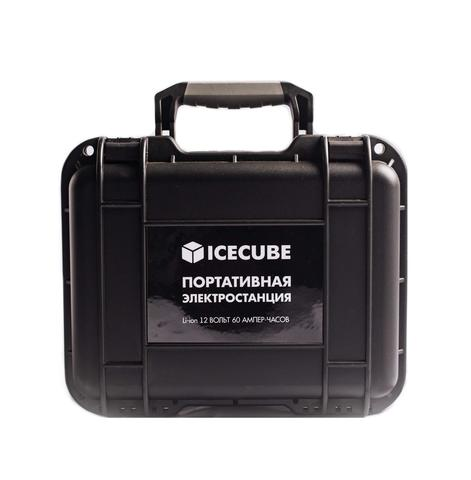 Портативная (переносная) электростанция ICECUBE ES-60 (60 А-ч, 720 Вт-ч)