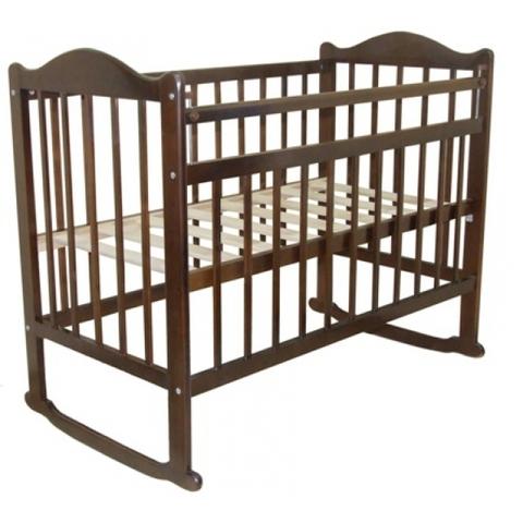 Детская кроватка Briciola-1 колесо - качалка