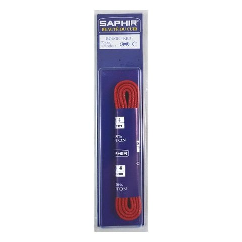 Шнурки Круглые Тонкие с Пропиткой  75см, (14 цветов)   Saphir