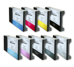 Комплект из 9 картриджей Optima для Epson 7880/9880 9x220 мл