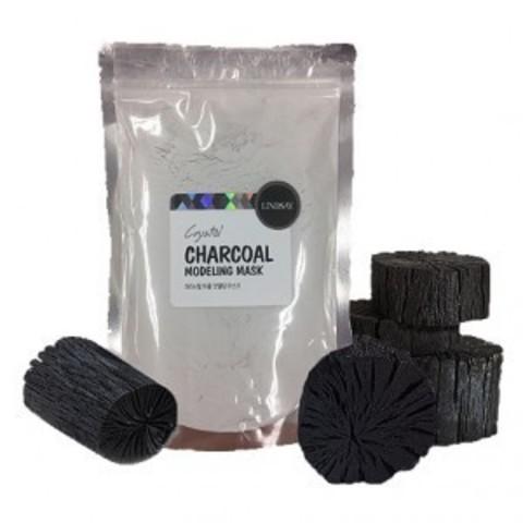 LINDSAY Premium Charcoal Modeling Mask Pack (Zipper) 240GR
