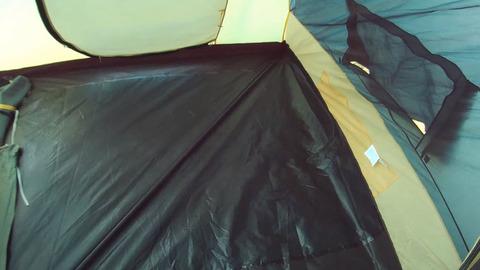 Палатка Canadian Camper TANGA 5, цвет woodland, внутренняя палатка большая.