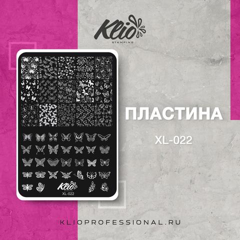 ПЛАСТИНА ДЛЯ СТЕМПИНГА KLIO PROFESSIONAL XL-022