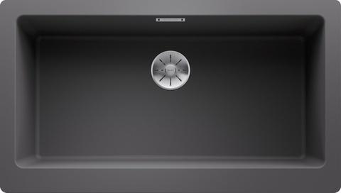 Кухонная мойка Blanco Vintera XL 9-UF, тёмная скала